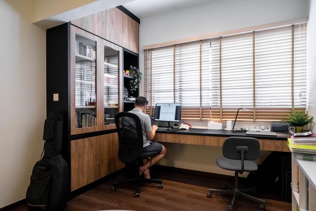 Contemporary, HDB, Study, Bishan Street 13, Interior Designer, Design 4 Space, Modern