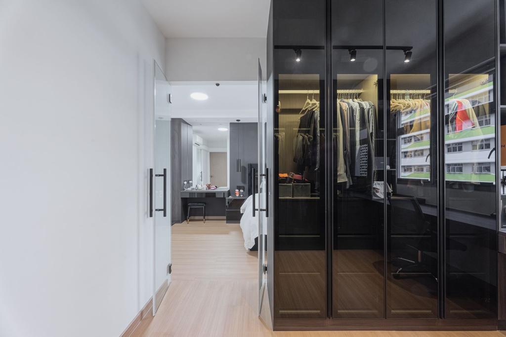 Contemporary, HDB, Bedroom, Tampines Street 61, Interior Designer, Todz'Terior, Scandinavian