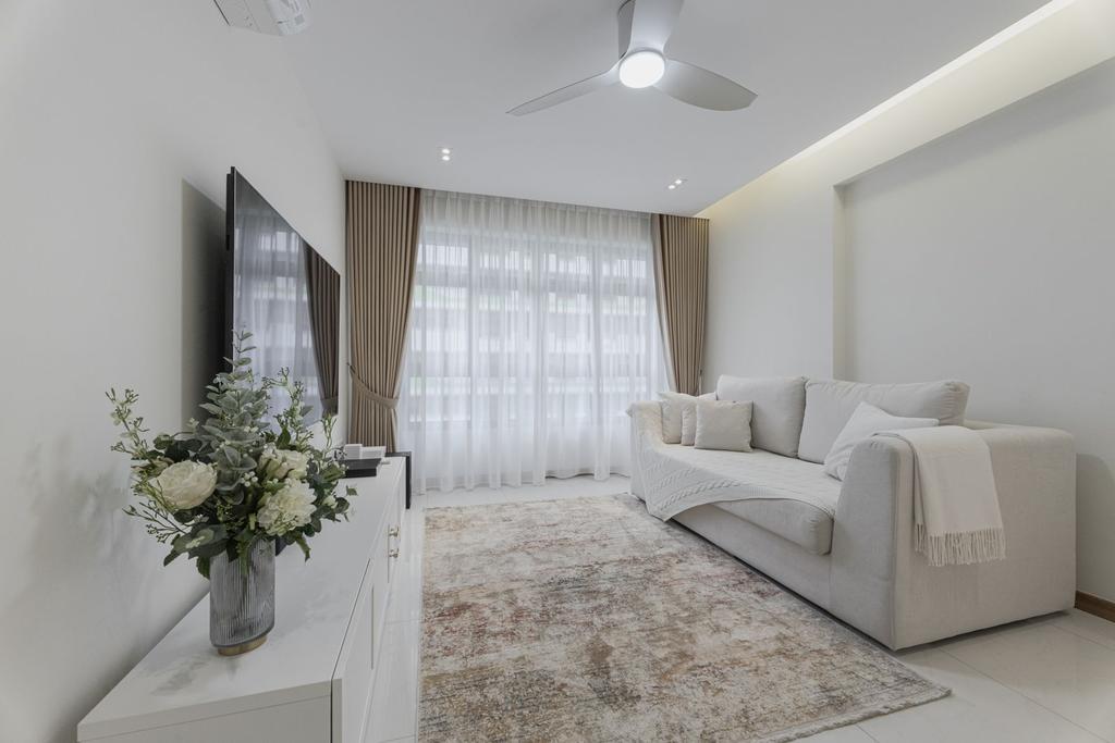 Contemporary, HDB, Living Room, Tampines Street 61, Interior Designer, Todz'Terior, Scandinavian