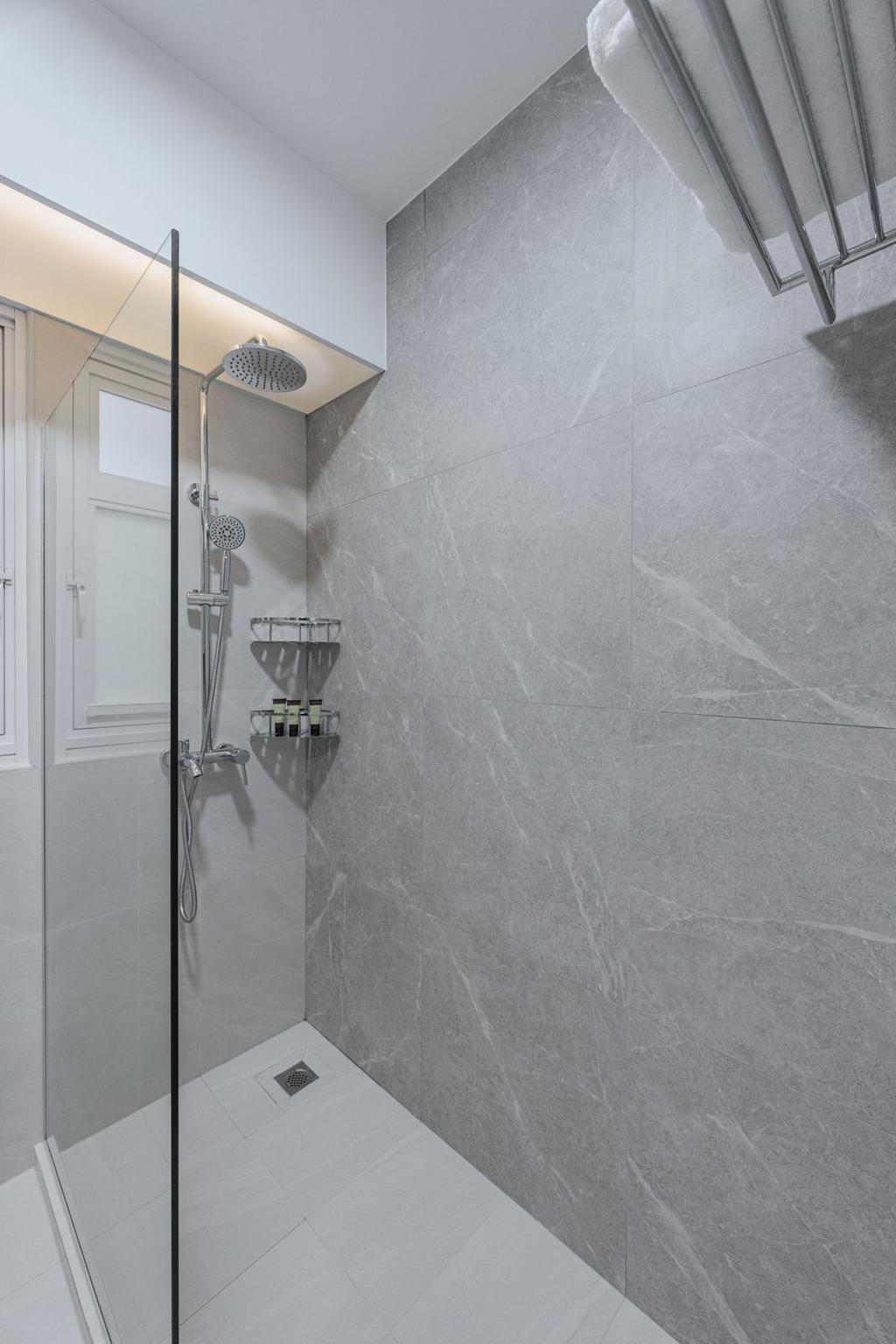 Contemporary, HDB, Bathroom, Tampines Street 61, Interior Designer, Todz'Terior, Scandinavian