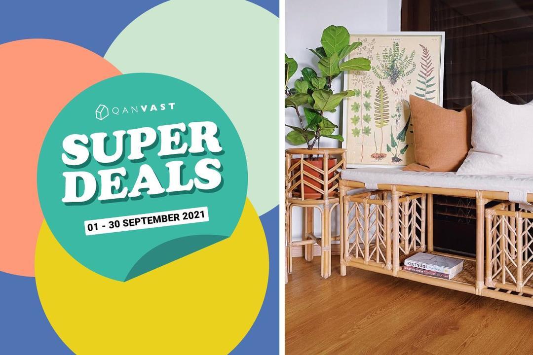 [Super Deals] 8% off all rattan items 1