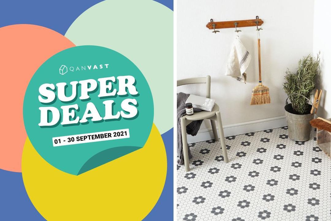 [Super Deals] 20% off selected cushion flooring 1