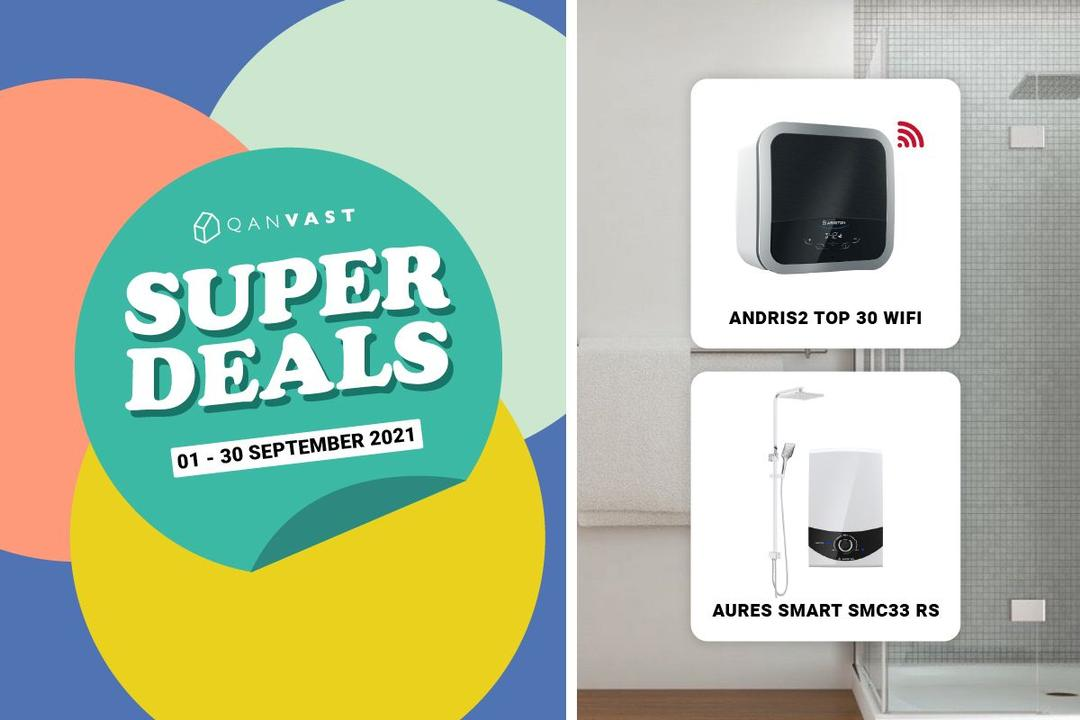[Super Deals] 20% off selected water heaters 1