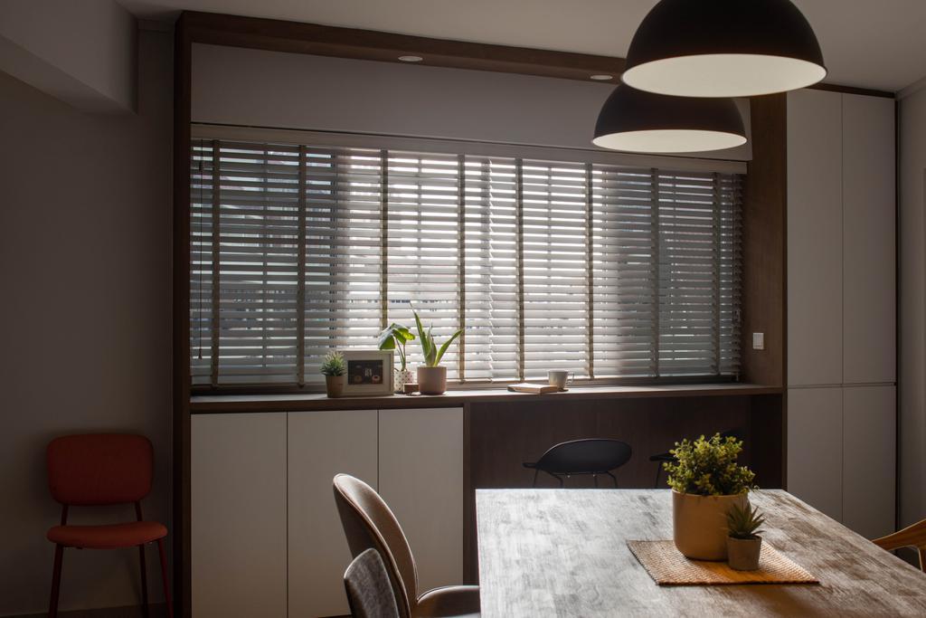 Scandinavian, HDB, Dining Room, Sin Ming Avenue, Interior Designer, Authors • Interior & Styling, Contemporary