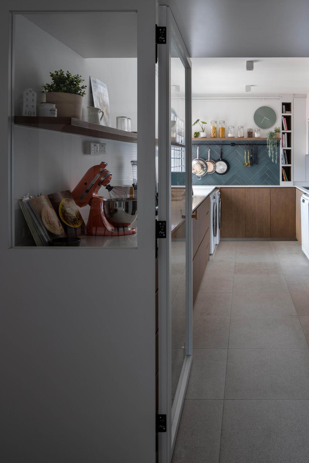 Scandinavian, HDB, Kitchen, Sin Ming Avenue, Interior Designer, Authors • Interior & Styling, Contemporary