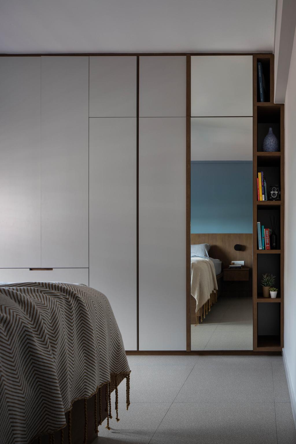 Scandinavian, HDB, Bedroom, Sin Ming Avenue, Interior Designer, Authors • Interior & Styling, Contemporary