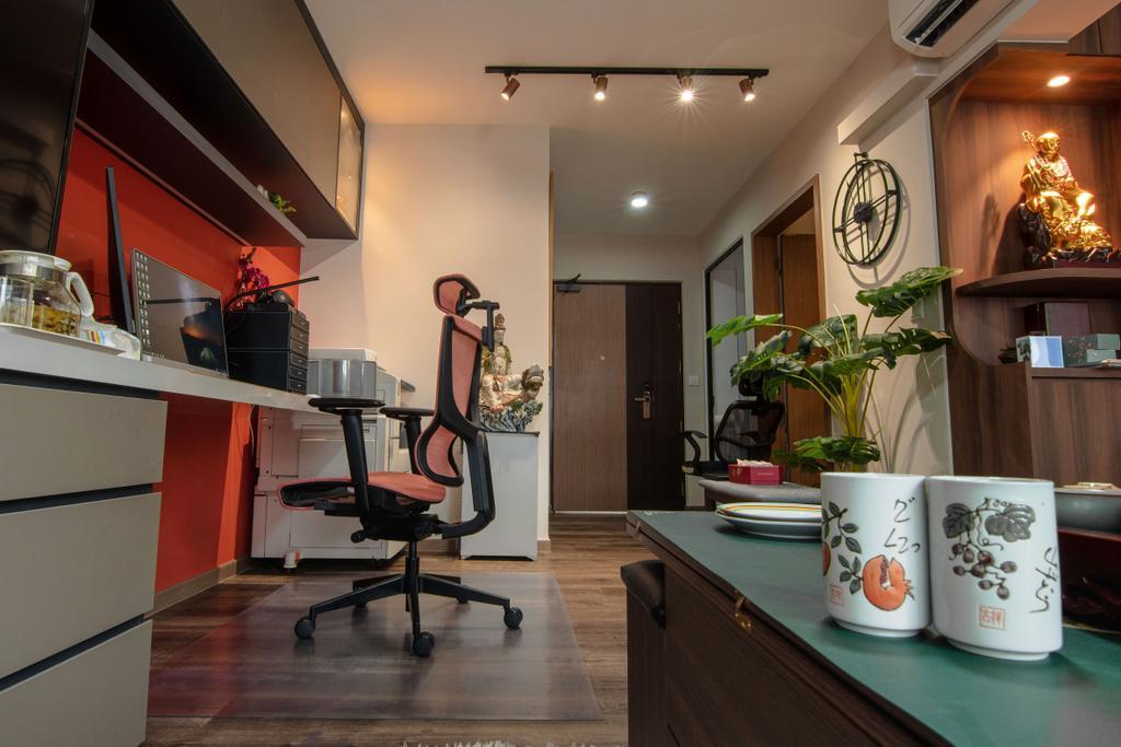 Contemporary, HDB, Study, Bedok South Road, Interior Designer, 9 Creation