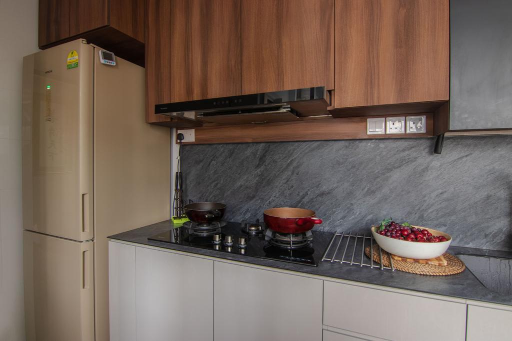 Contemporary, HDB, Kitchen, Bedok South Road, Interior Designer, 9 Creation