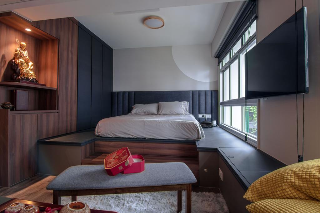 Contemporary, HDB, Bedroom, Bedok South Road, Interior Designer, 9 Creation