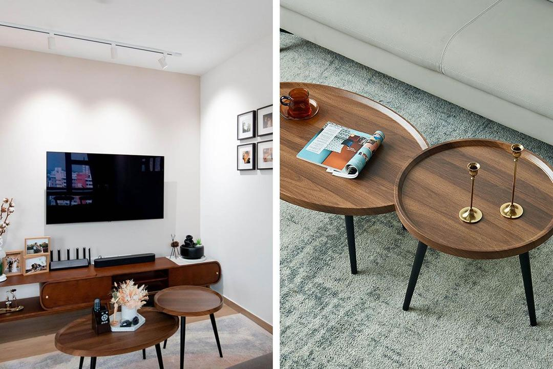 Shopee Qanvast Picks Nordic Coffee Table Wood