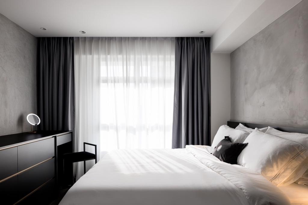 Contemporary, HDB, Bedroom, Northshore Drive, Interior Designer, The Local INN.terior 新家室
