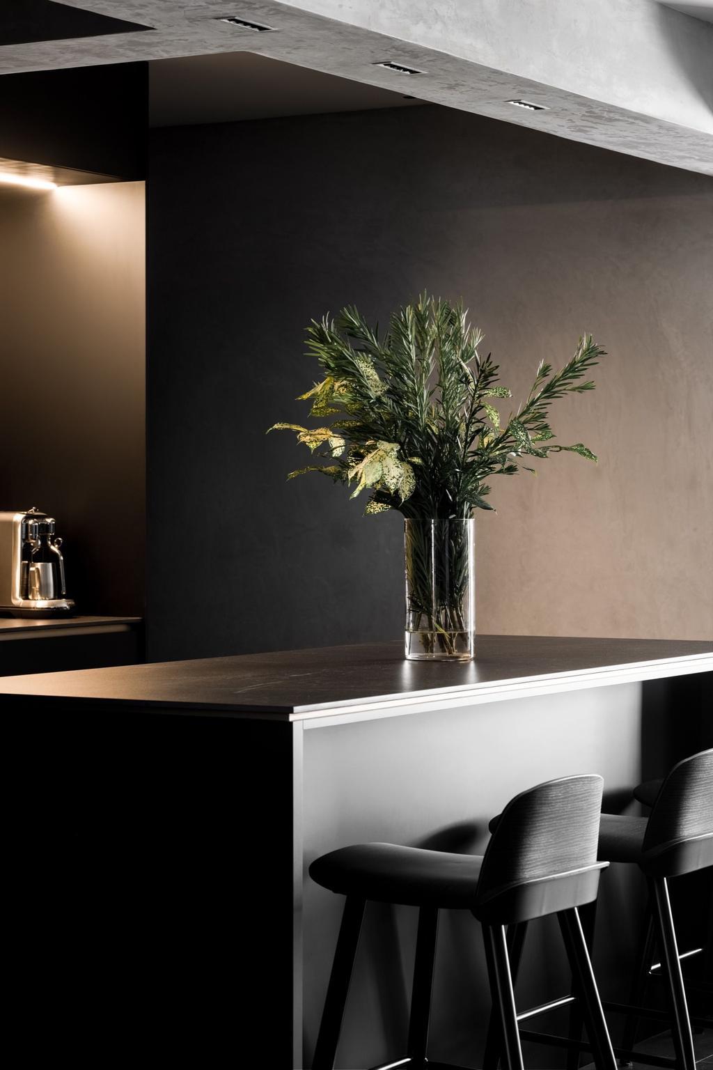 Contemporary, HDB, Dining Room, Northshore Drive, Interior Designer, The Local INN.terior 新家室