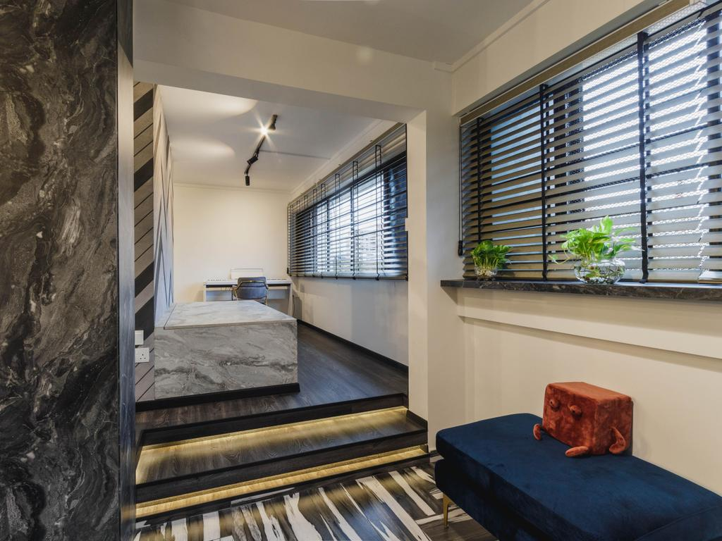 Contemporary, HDB, Study, Ubi Avenue 1, Interior Designer, Chapter 3