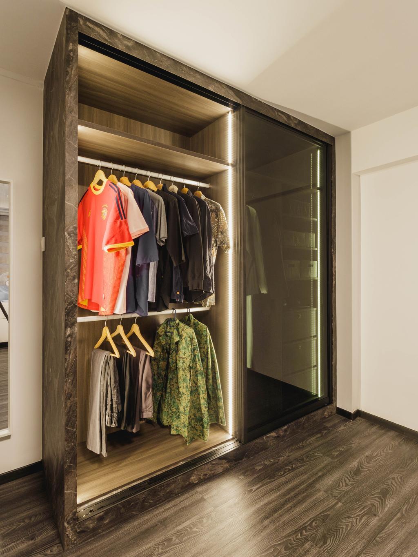 Contemporary, HDB, Bedroom, Ubi Avenue 1, Interior Designer, Chapter 3