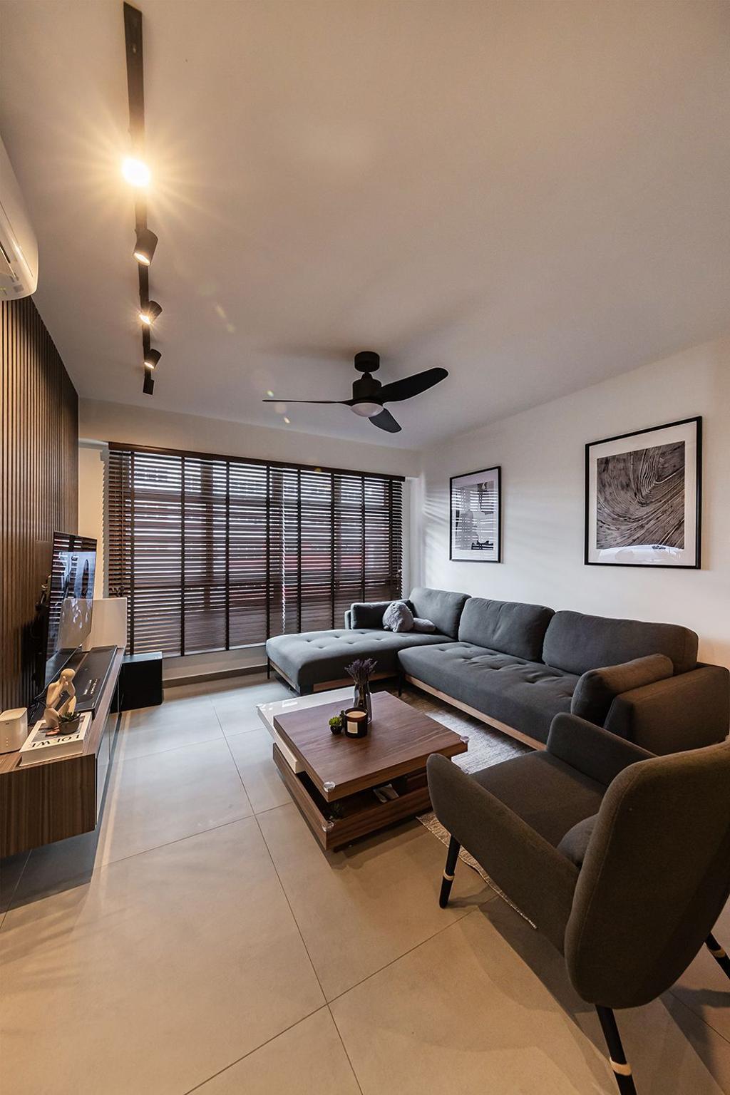 Contemporary, HDB, Bedok South Road, Interior Designer, Noble Interior Design
