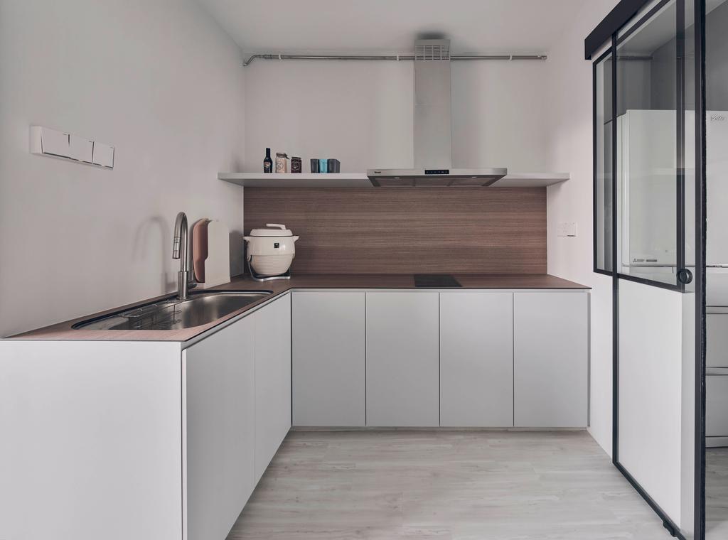 Contemporary, HDB, Kitchen, Hougang Street 91, Interior Designer, Charlotte's Carpentry