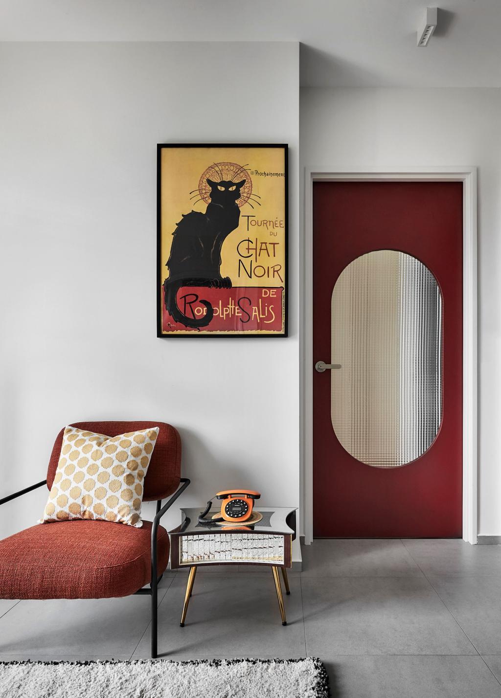 Contemporary, HDB, Living Room, Dawson, Interior Designer, Happe Design Atelier, Eclectic