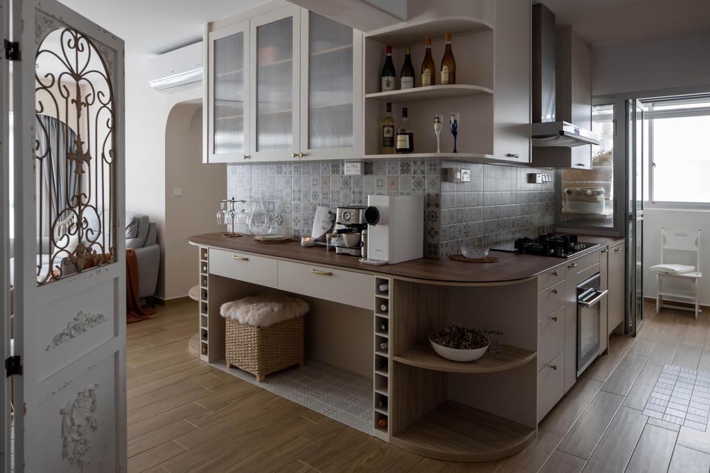 Scandinavian, HDB, Kitchen, Chai Chee Road, Interior Designer, A Blue Cube Design
