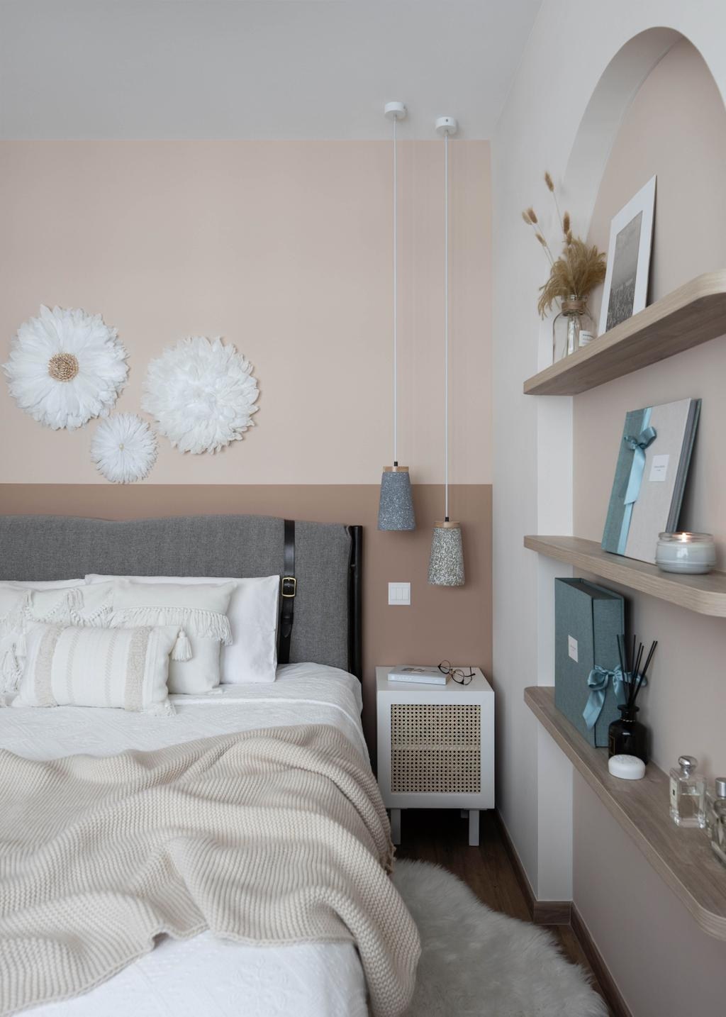 Scandinavian, HDB, Bedroom, Chai Chee Road, Interior Designer, A Blue Cube Design