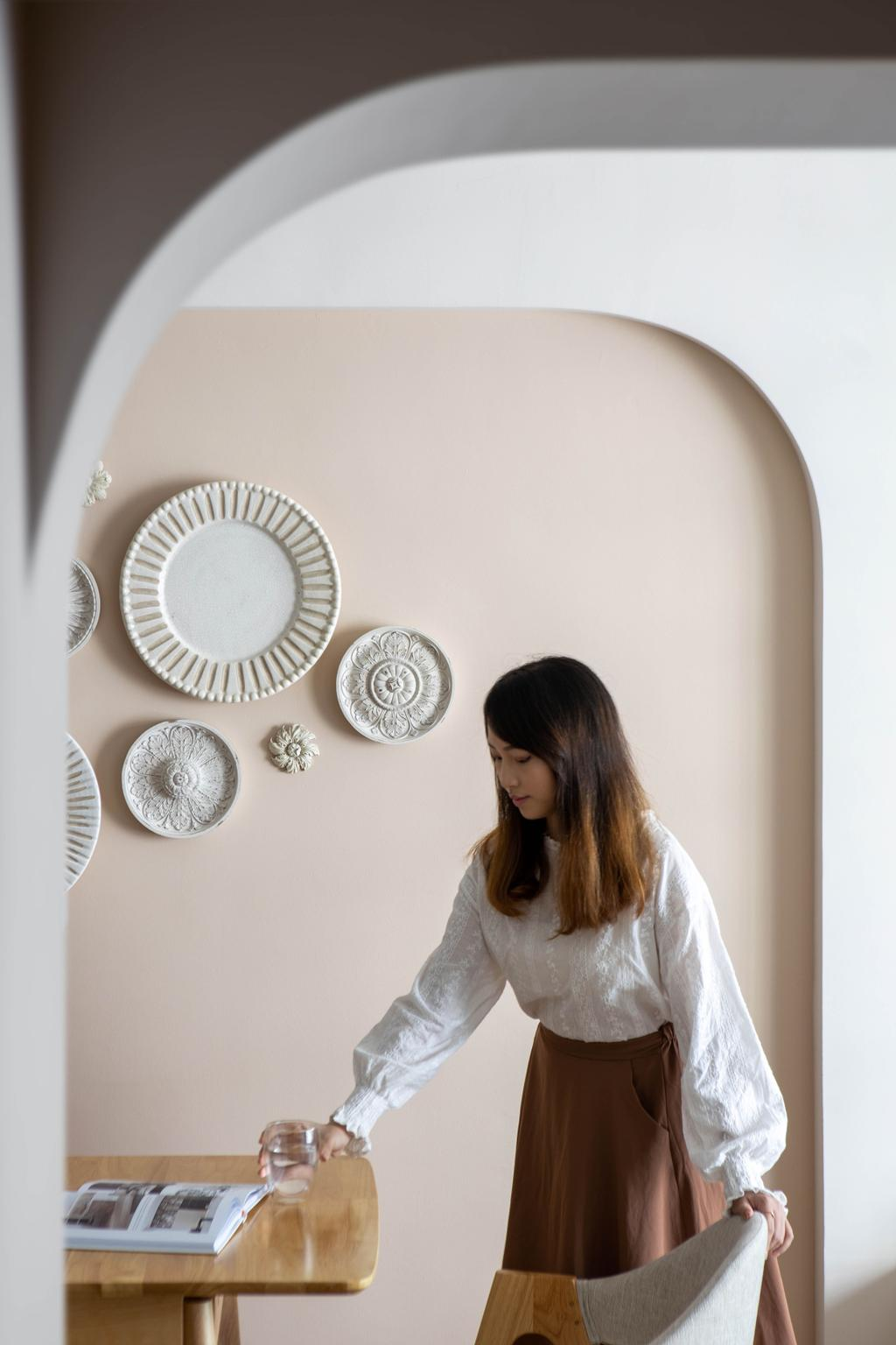Scandinavian, HDB, Dining Room, Chai Chee Road, Interior Designer, A Blue Cube Design