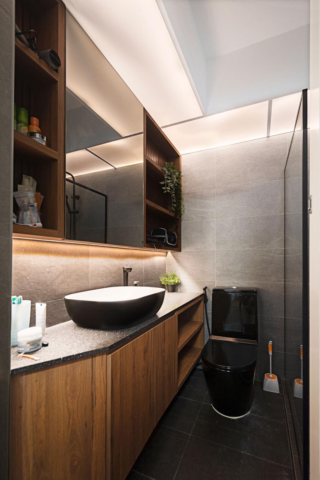 Contemporary, HDB, Northshore Drive, Interior Designer, Honeycomb Design Studio