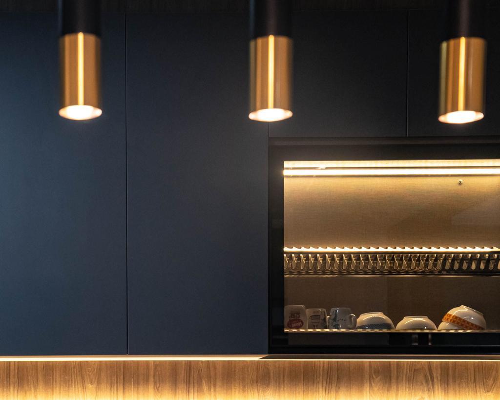 Contemporary, HDB, Kitchen, Bukit Batok West Avenue 8, Interior Designer, Kingsley Interior