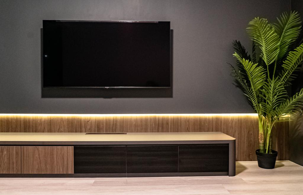 Contemporary, HDB, Living Room, Bukit Batok West Avenue 8, Interior Designer, Kingsley Interior