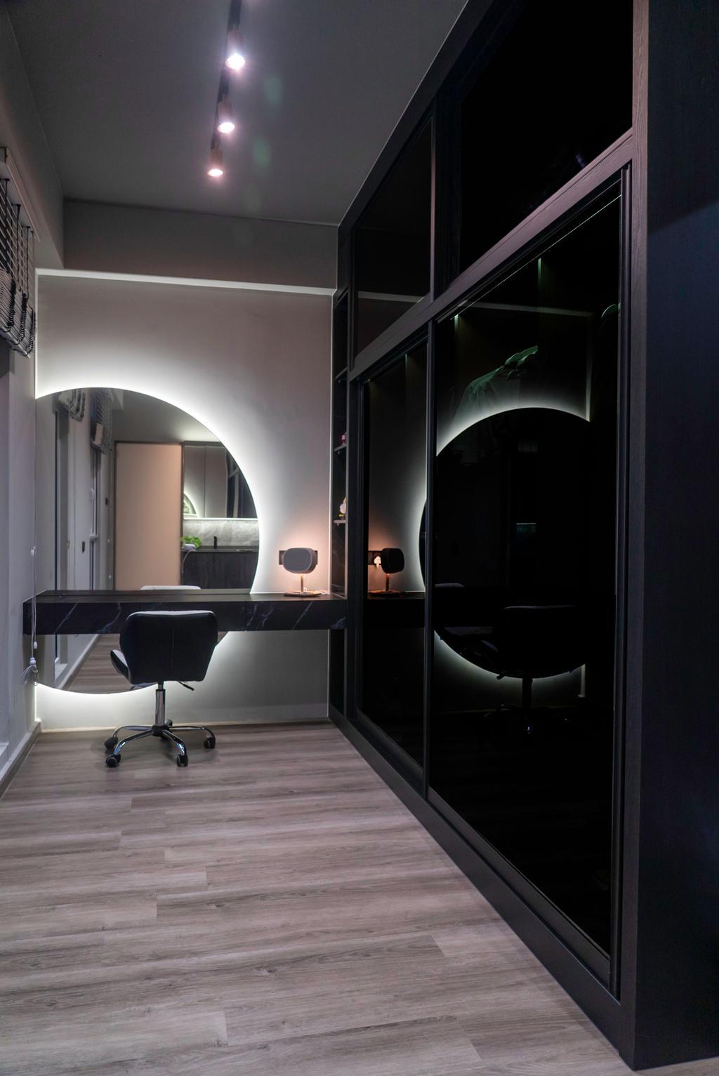 Contemporary, Landed, Bedroom, Springwood Walk, Interior Designer, Kingsley Interior