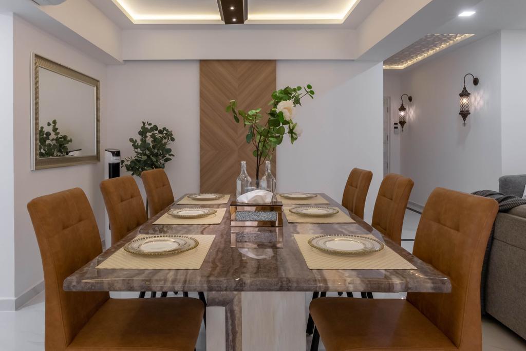 Scandinavian, HDB, Dining Room, Tampines Street 72, Interior Designer, Design Story, Contemporary