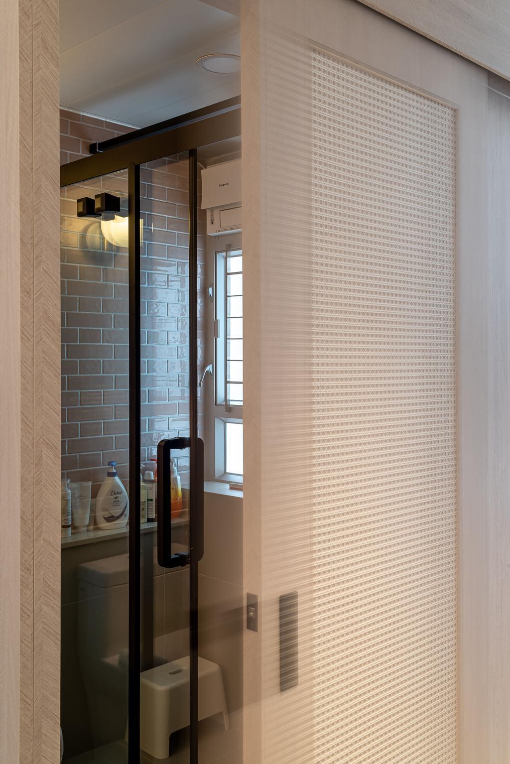 摩登, 公屋/居屋, 浴室, 錦暉苑, 室內設計師, Deco Farmer Studio