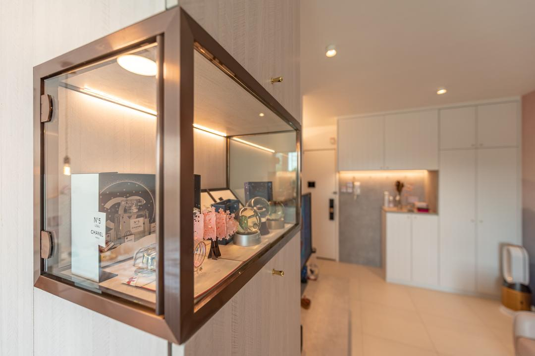 錦暉苑, Deco Farmer Studio, 摩登, 客廳, 私家樓