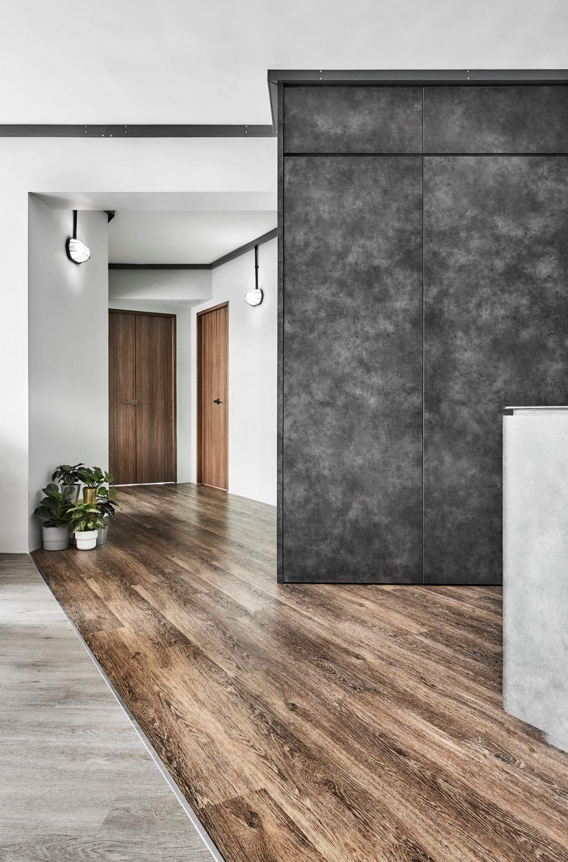 Industrial, HDB, Living Room, Corporation Drive, Interior Designer, Notion of W, Contemporary