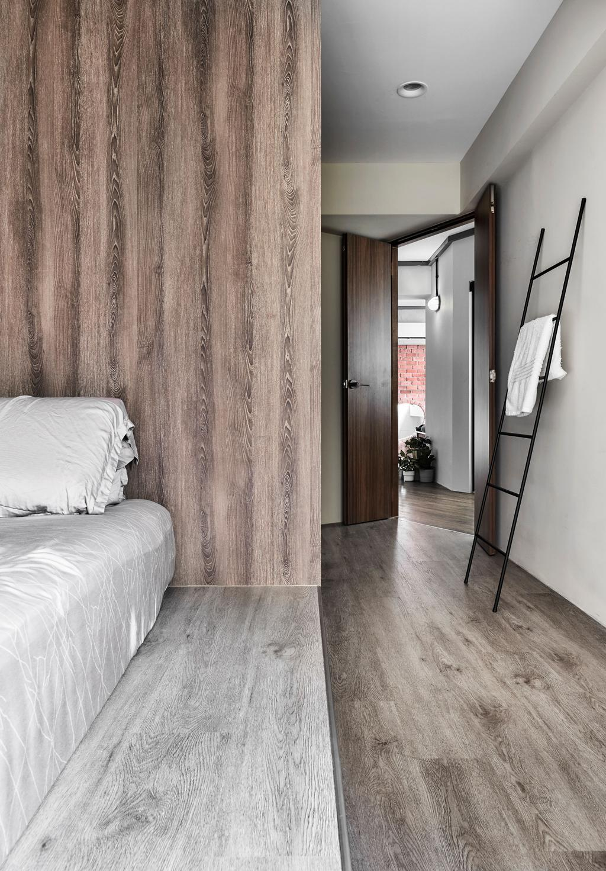 Industrial, HDB, Bedroom, Corporation Drive, Interior Designer, Notion of W, Contemporary