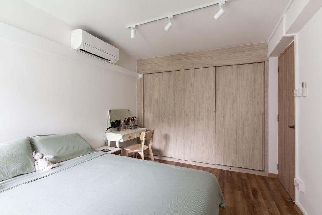 Scandinavian, HDB, Bedroom, Telok Blangah Rise, Interior Designer, Fineline Design