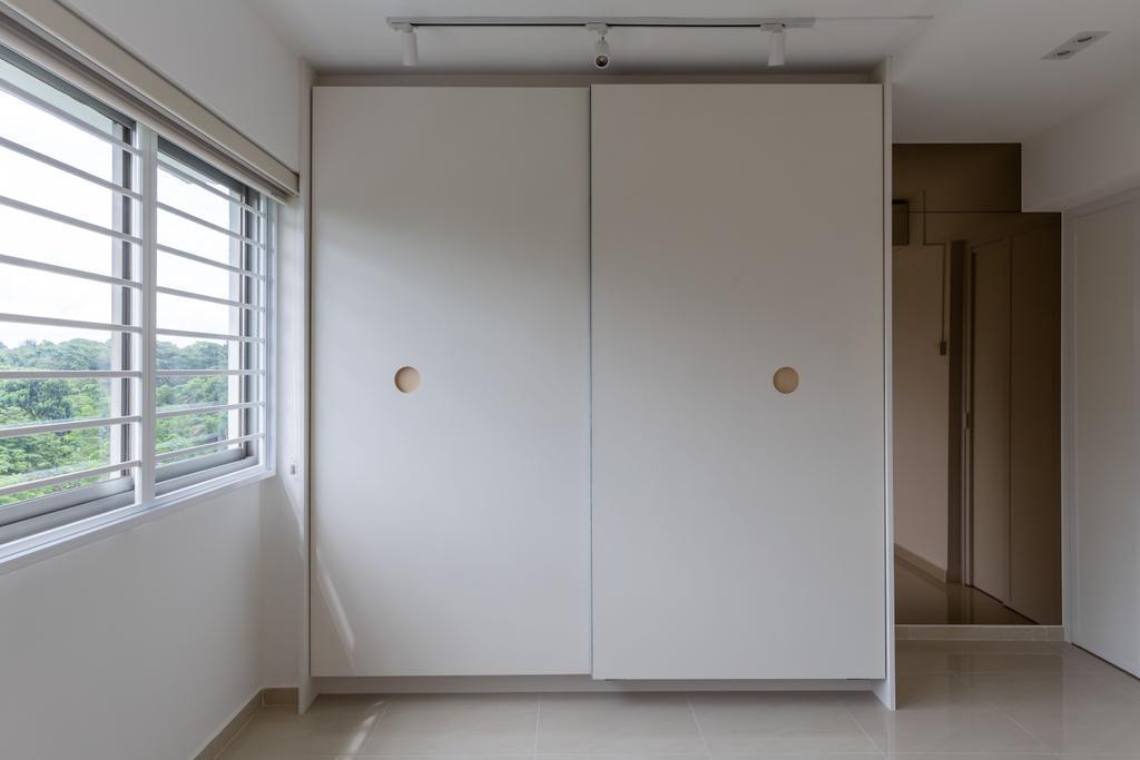 Scandinavian, HDB, Bedroom, Petir Road, Interior Designer, Apartment