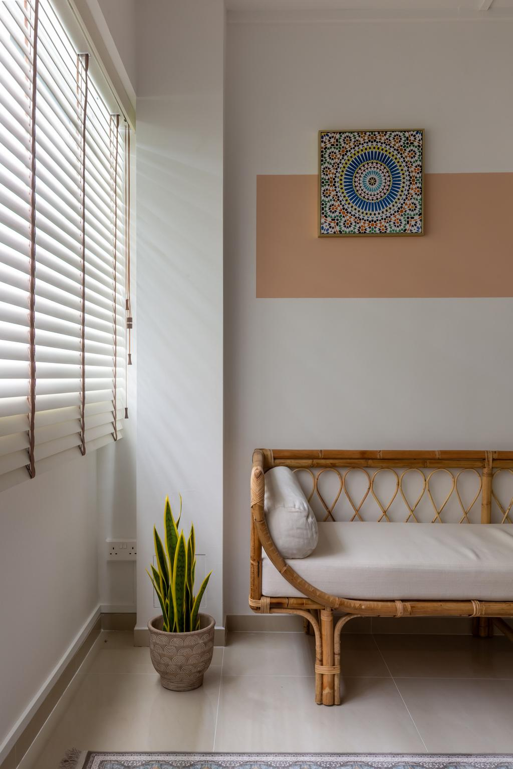 Scandinavian, HDB, Living Room, Petir Road, Interior Designer, Apartment