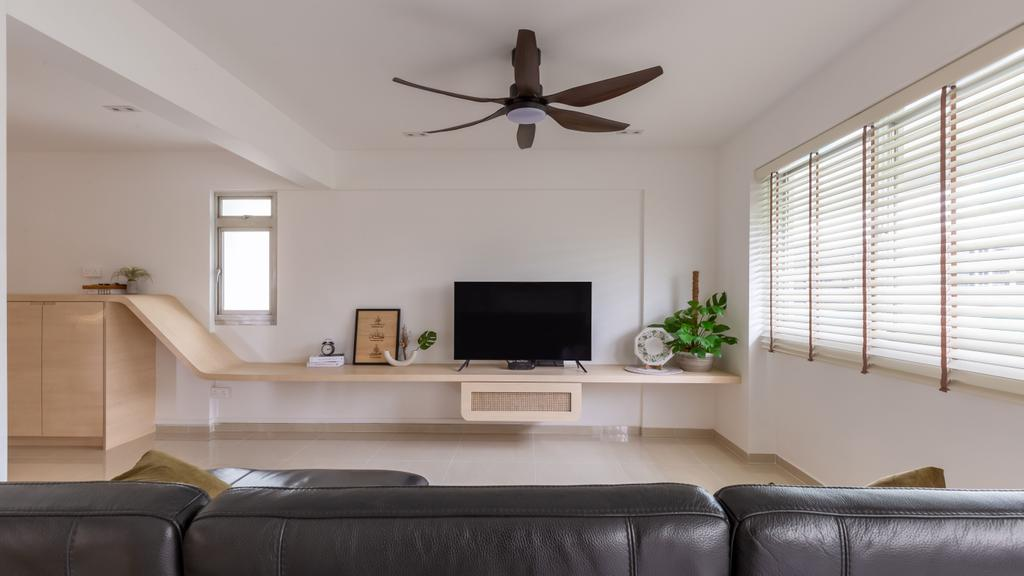 Scandinavian, HDB, Petir Road, Interior Designer, Apartment