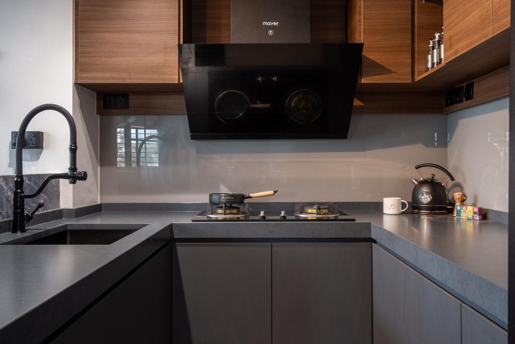 Contemporary, HDB, Kitchen, Jurong West Street 42, Interior Designer, Apartment