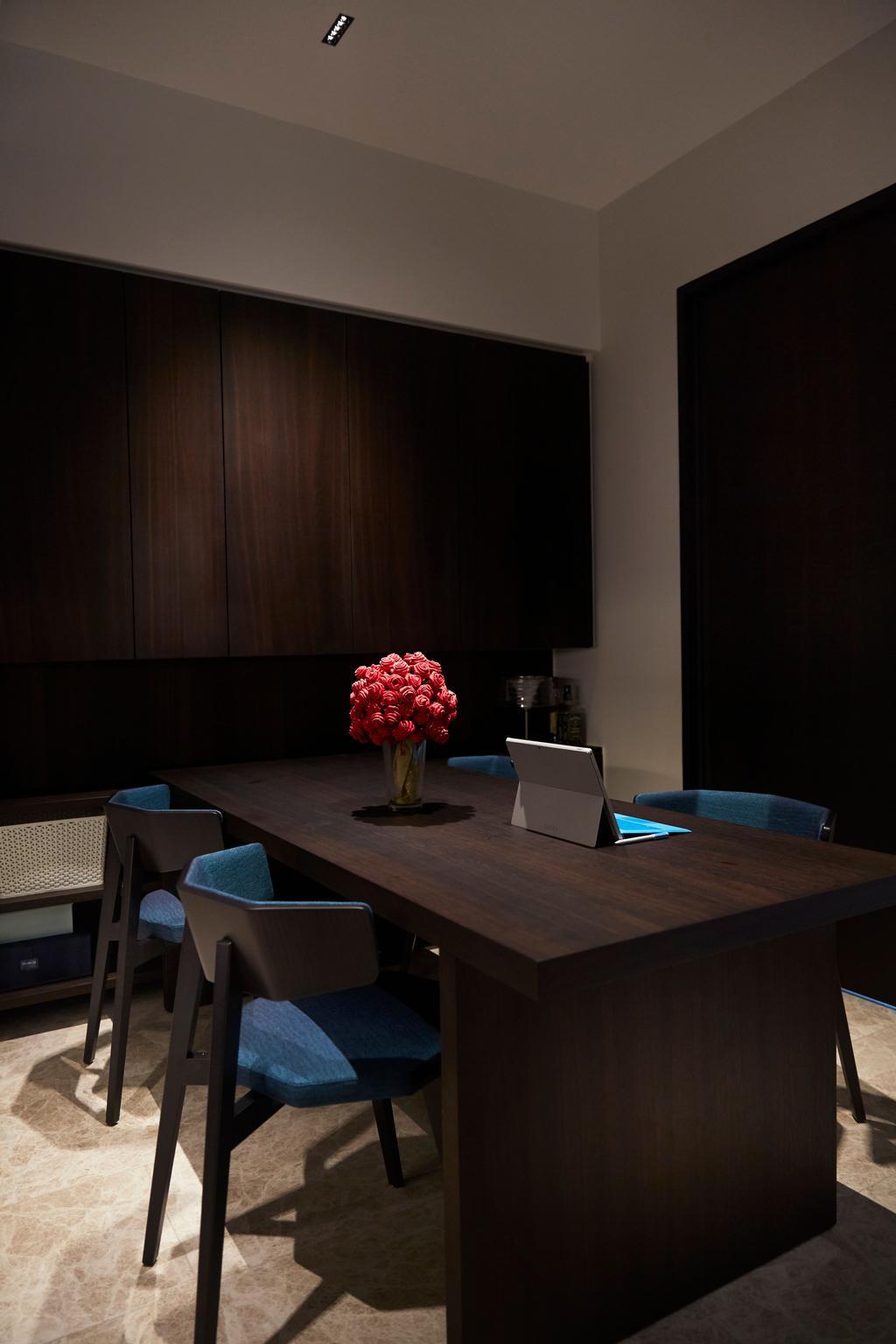 Contemporary, Condo, Dining Room, Corals At Keppel Bay, Interior Designer, PRDT Interiors
