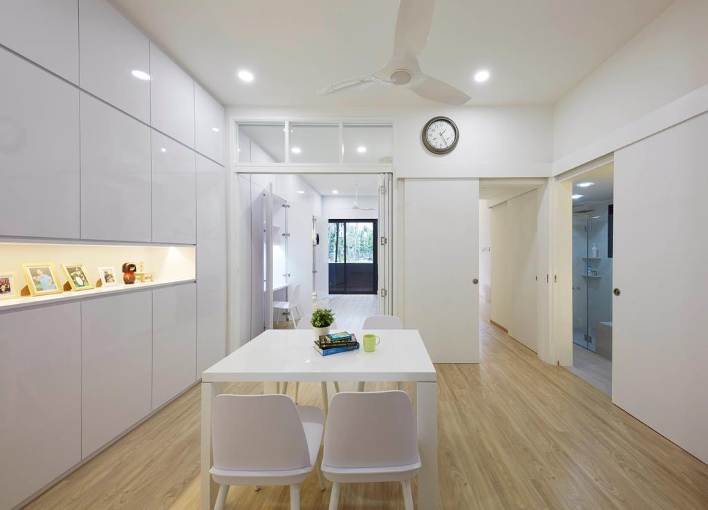 Minimalist, Condo, Dining Room, River Place, Interior Designer, PRDT Interiors, Contemporary