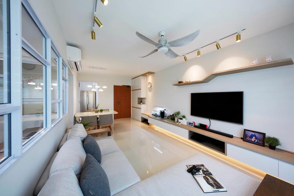 Contemporary, HDB, Henderson Road, Interior Designer, PRDT Interiors