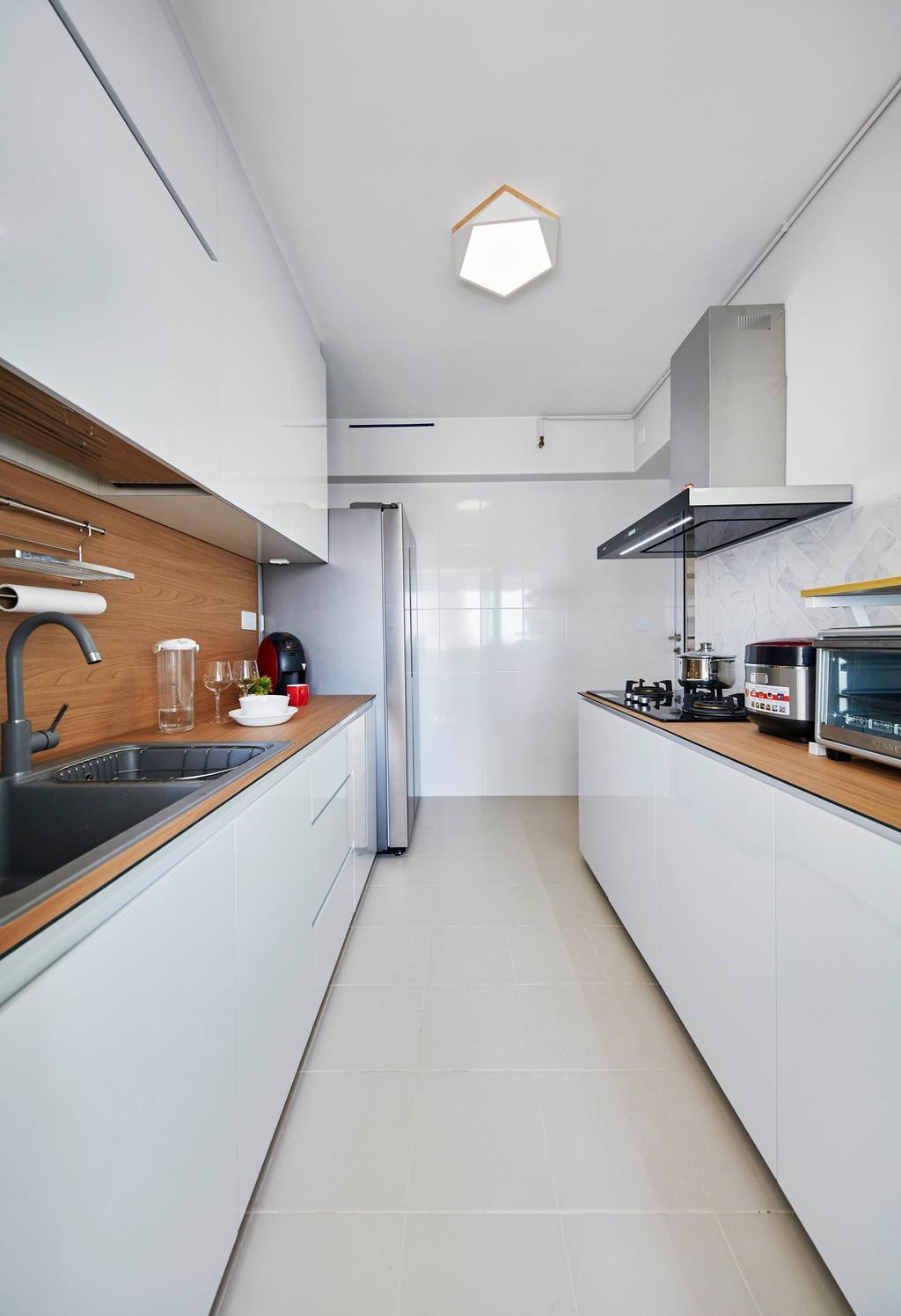 Contemporary, HDB, Kitchen, Henderson Road, Interior Designer, PRDT Interiors