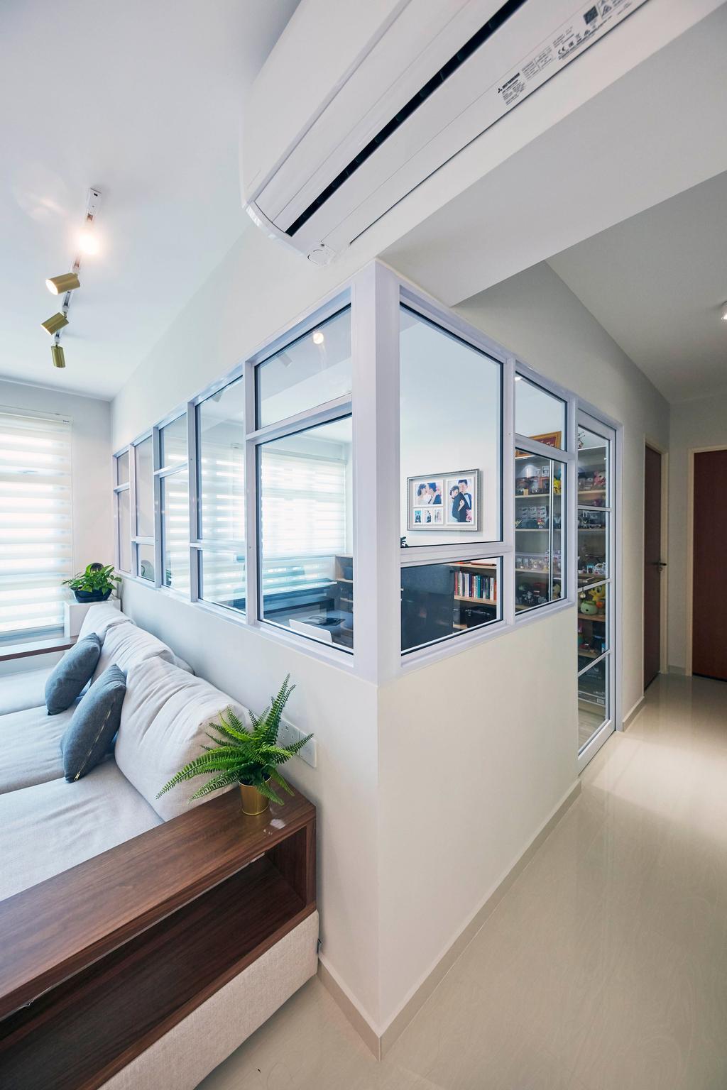 Contemporary, HDB, Living Room, Henderson Road, Interior Designer, PRDT Interiors