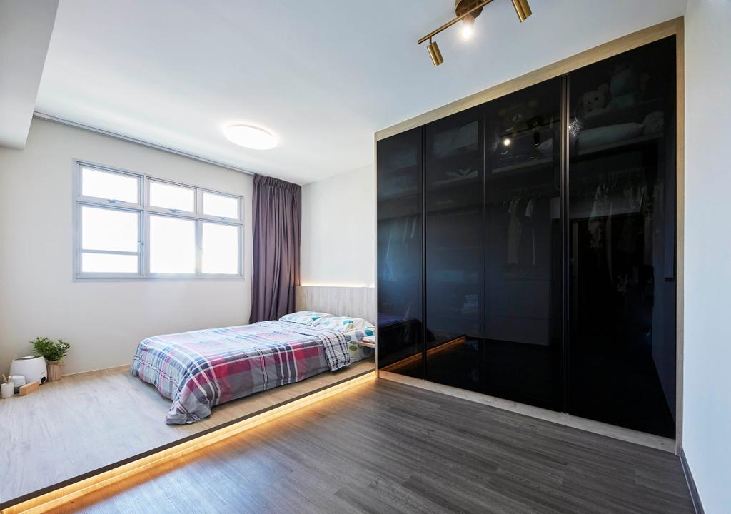 Contemporary, HDB, Bedroom, Henderson Road, Interior Designer, PRDT Interiors
