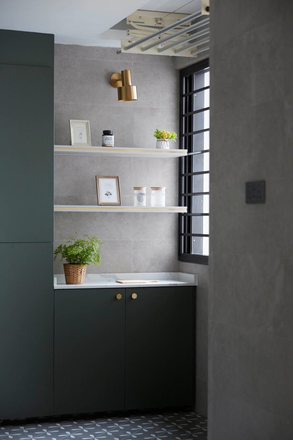 Contemporary, HDB, Kitchen, Yishun Avenue 11, Interior Designer, PRDT Interiors