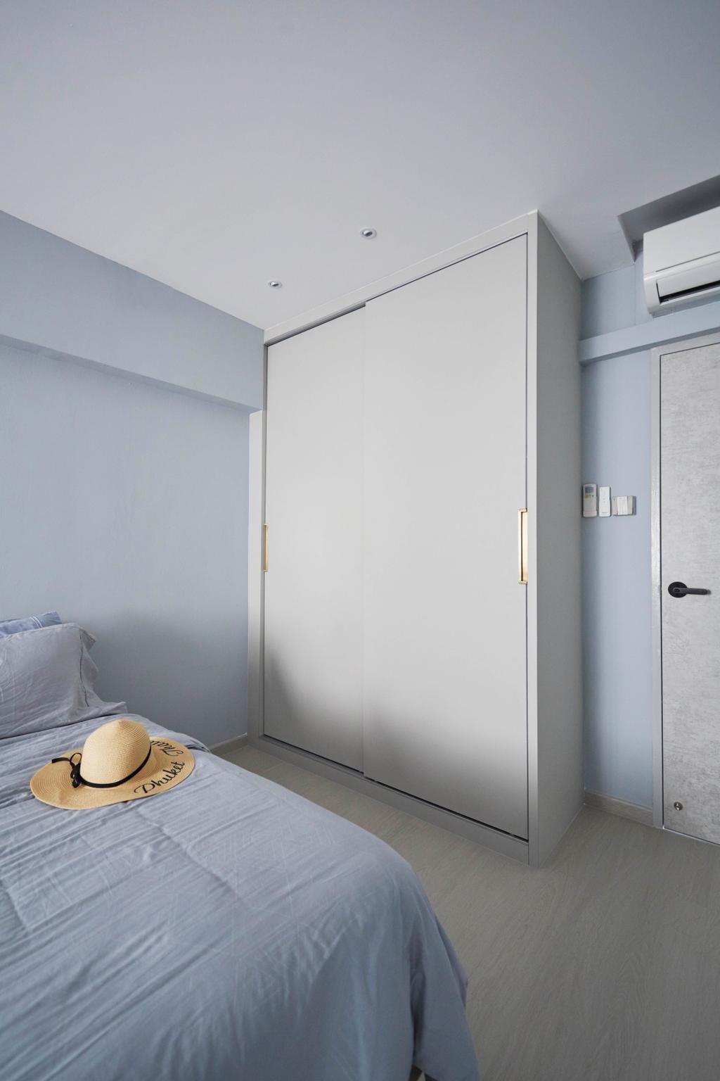 Contemporary, HDB, Bedroom, Yishun Avenue 11, Interior Designer, PRDT Interiors
