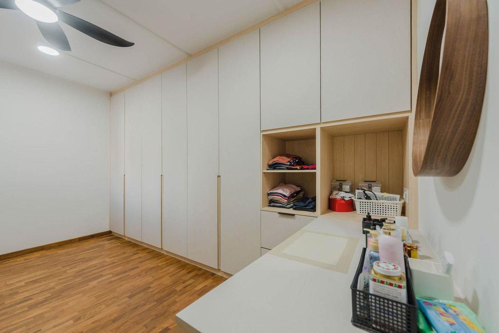 Scandinavian, HDB, Study, Tampines Street 86, Interior Designer, Archive Design