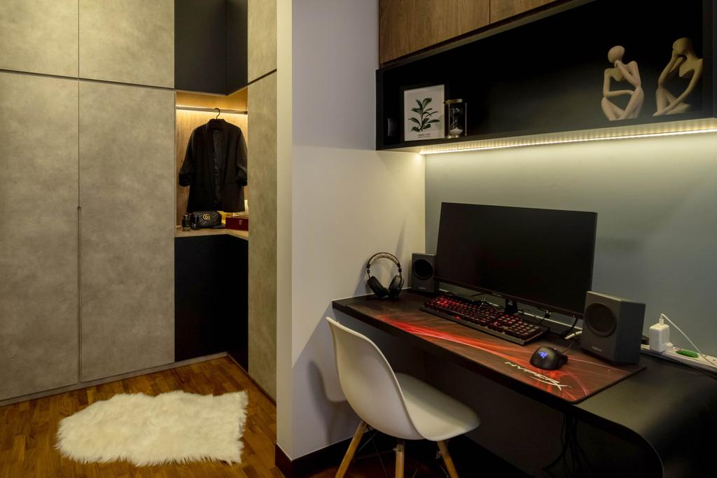 Contemporary, Condo, Study, euHabitat, Interior Designer, The Makers Design Studio