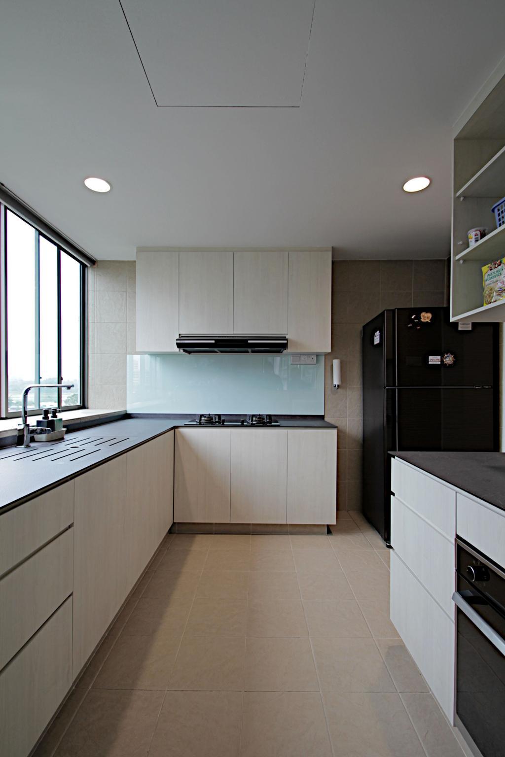 Modern, Condo, Kitchen, The Quintet, Interior Designer, Mesh Room Design
