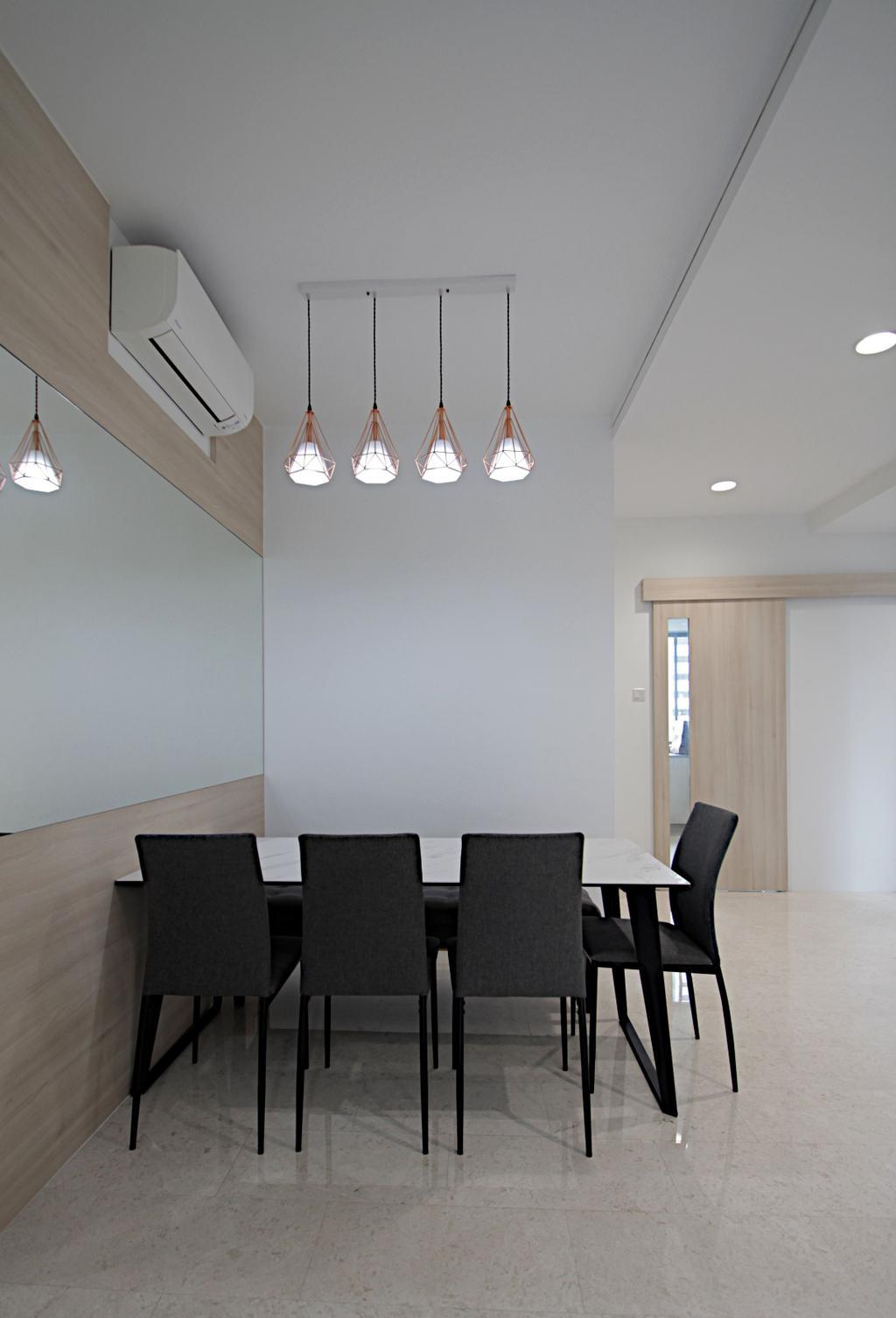 Modern, Condo, Dining Room, The Quintet, Interior Designer, Mesh Room Design